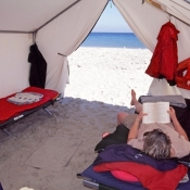 MB:BWE inside tent 9x6