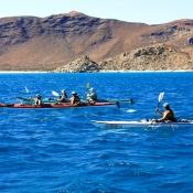 ES kayaking 2 doubles & single 9x6