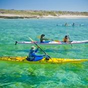 IH 3 kayaks clear waters 9x6