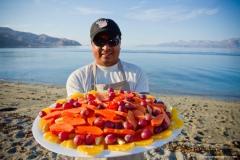 All fruit platter 9x6