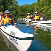 DT 2 double kayaks mangroves 9x6